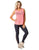 Red Feelin Lovely Activewear Tank Top