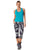 Blue Women's Activewear Tank Top
