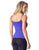 TANK TOP 53 THIN STRAP PADDED ROYAL BLUE