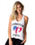 TANK TOP 69 FOREVER YOUNG WHITE