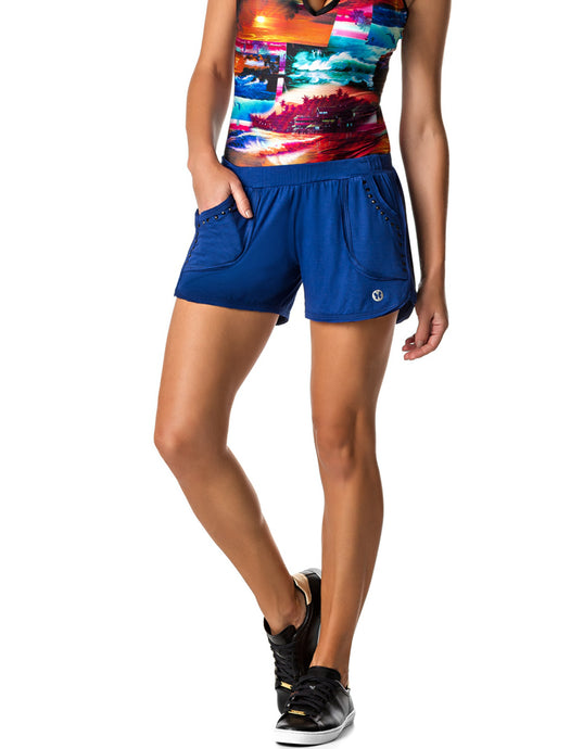 SHORTS 104 BOXY ROYAL BLUE