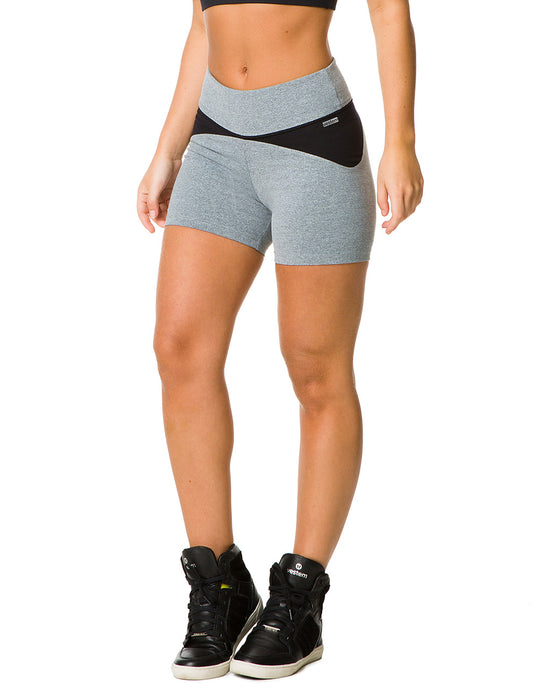 SHORTS 146 BEVERLY GREY & BLACK