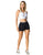 Black Trend Exercise Shorts for Women