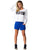 Activewear Sweats Shorts for Ladies Royal Blue