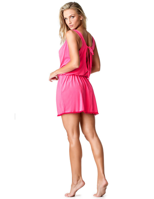 DRESS COVER-UP 53 HIPPIE PINK