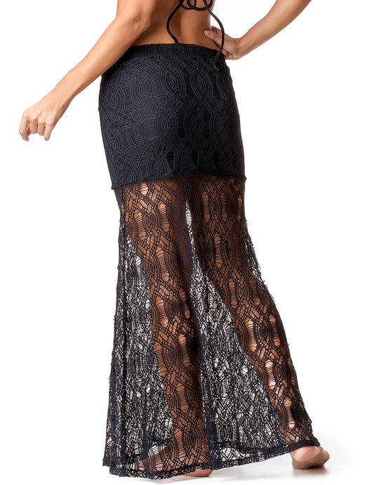 SKIRT COVER-UP 56 SIRENA BLACK