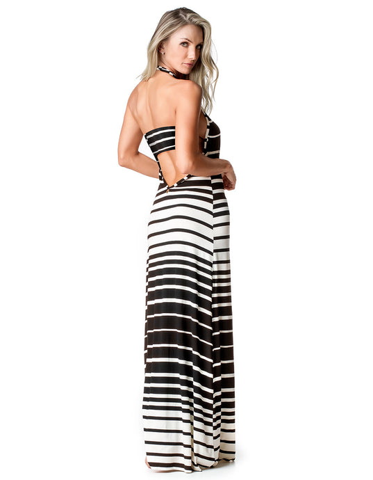 DRESS COVER-UP 58 ROAD STRIPED