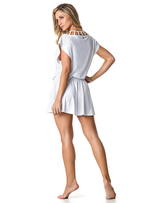 DRESS COVER-UP 59 DESIRE WHITE