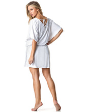 DRESS COVER-UP 64 KAFITA WHITE