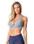 SPORTS BRA 11 CROSSED GREY