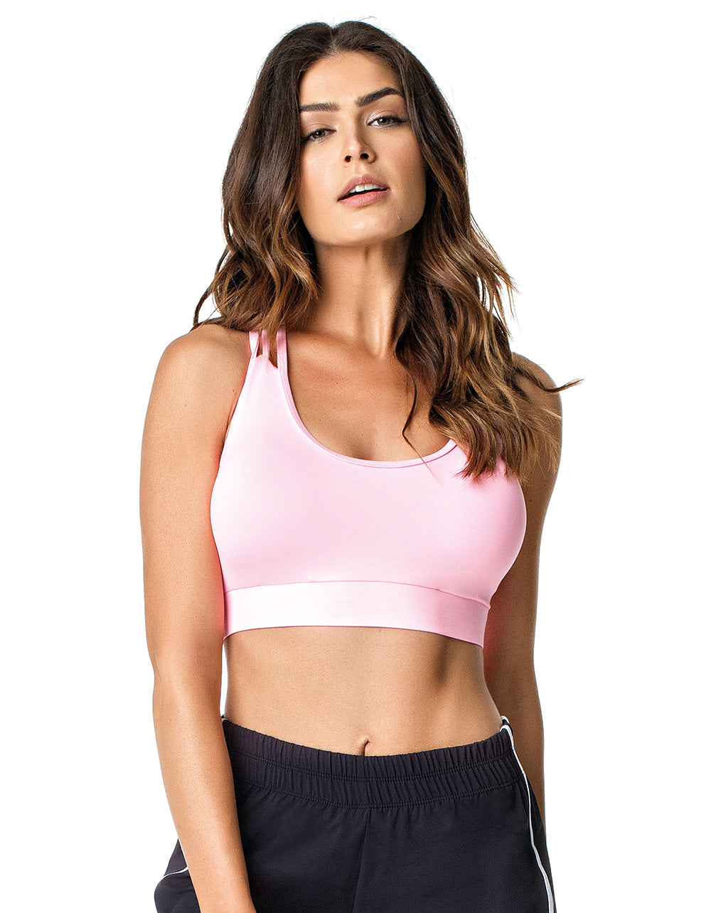 SPORTS BRA 193 VEGAS PINK