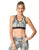 Women's Compression Sports Bra Green