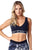 SPORTS BRA 221 CROSS FASHION BLACK