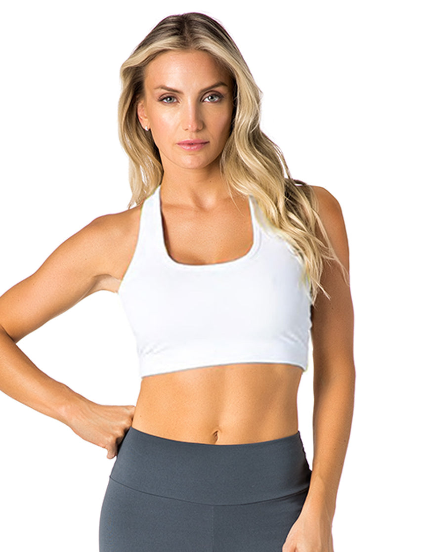 SPORTS BRA 61 SEDUCTION WHITE