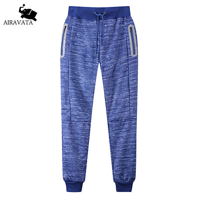 Airavata Brand Male Joggers Trousers Pants Fleece High Quality Hip Hop Casual Sweatpants Material
