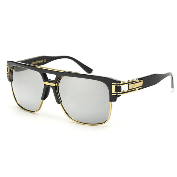 ROYAL GIRL TOP Quality Gold Middle Sunglasses