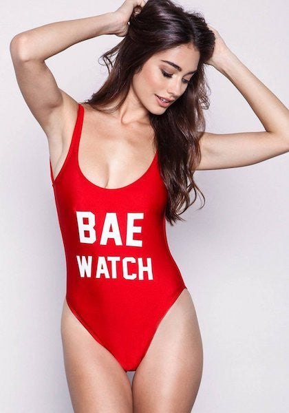 6e583eacc84 Bae Watch Swimsuit – Cotton And Gem