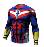 My Hero Academia 'All Might' Long Sleeve Compression RashGuard