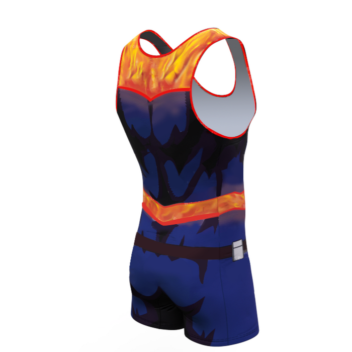 My Hero Academia 'Endeavour' Men's Powerlifting Singlet