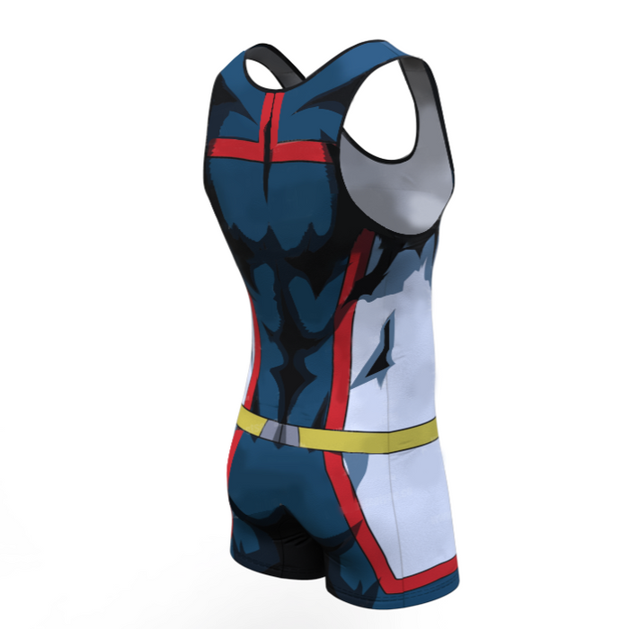My Hero Academia 'Young All Might ' Men's Powerlifting Singlet