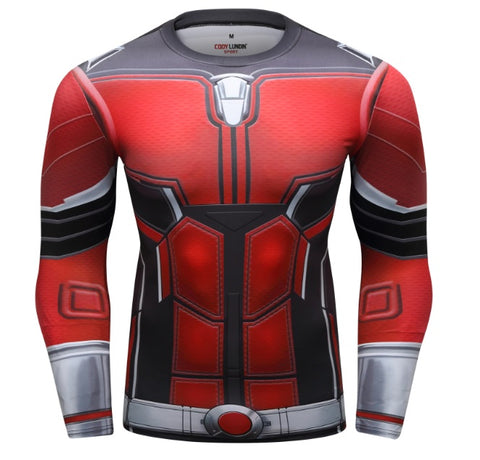 Antman 'End Game' Elite Compression Long Sleeve Rash Guard