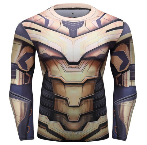 Mad Titan 'End Game Armor' Elite Compression Long Sleeve Rash Guard
