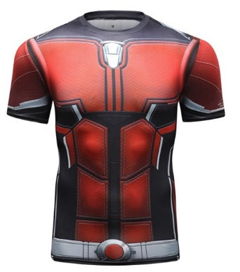 Antman 'End Game' Elite Compression Short Sleeve Rash Guard
