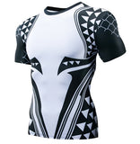 Aquaman 'Dark Tattoo' Short Sleeve Dri-Fit Rash Guard