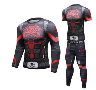Captain America Steve Rogers 'Agent of Hydra' Elite Compression Set