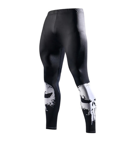 The Punisher Compression Leggings
