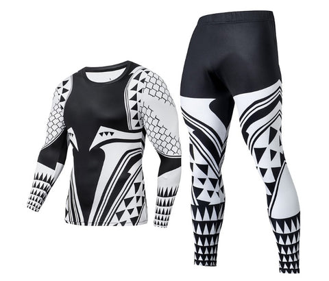 Aquaman 'Light Tattoo' Compression Set