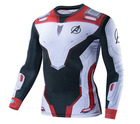 Avengers End Game 'Quantum Realm Suit' Long Sleeve Dri-Fit