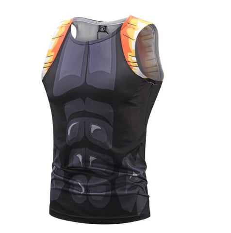 Onyx Gogeta Dragon Ball Z Tank Top