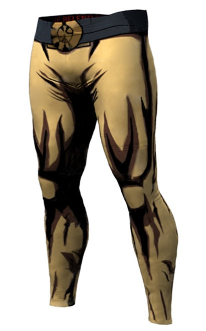 One Punch Man 'Serious Saitama' Compression Leggings Spats