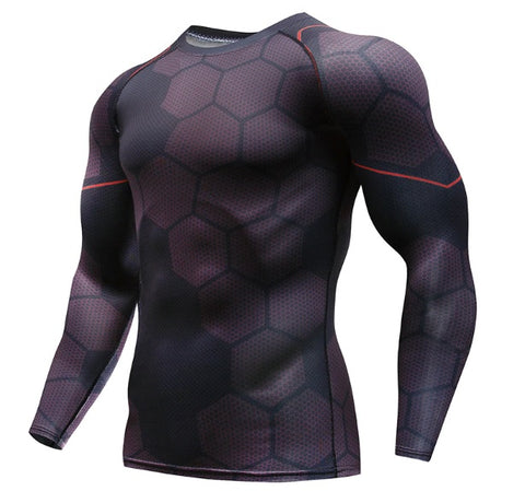 Iron Man 'No Reactor' Infinity War Long Sleeve Undersuit Compression Rash Guard