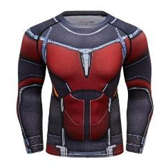 Antman 2 Compression Long Sleeve Rash Guard-RashGuardStore