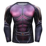 Antman 2 'The Wasp' Comic Compression Long Sleeve Rash Guard-RashGuardStore