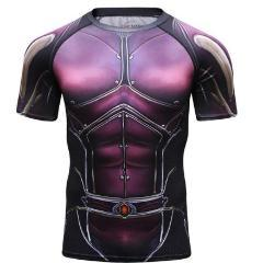 Antman 2 'The Wasp' Comic Compression Short Sleeve Rash Guard-RashGuardStore