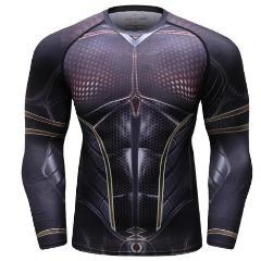 Antman 2 'The Wasp' Compression Long Sleeve Rash Guard-RashGuardStore