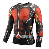 Antman Compression Long Sleeve Rash Guard-RashGuardStore