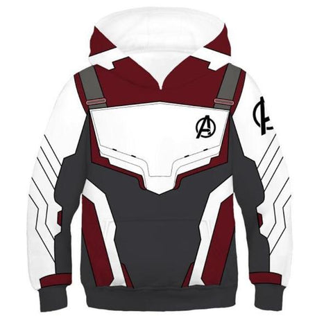 Avengers End Game 'Quantum Realm Suit' Kids Hoodie-RashGuardStore