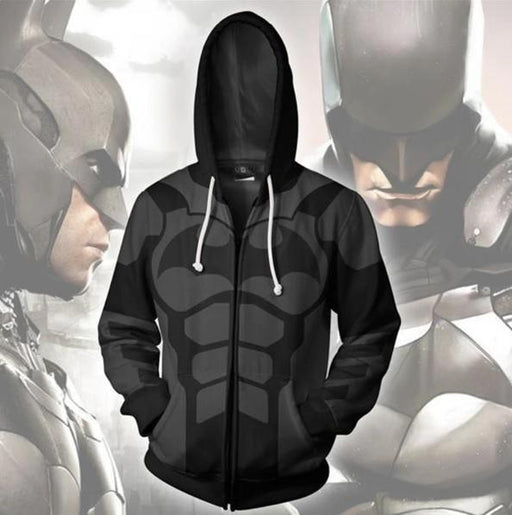 Batman 'Outsiders' Zip Up Hoodie-RashGuardStore