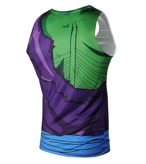 Battle Damaged Picollo Dragon Ball Z Tank Top-RashGuardStore