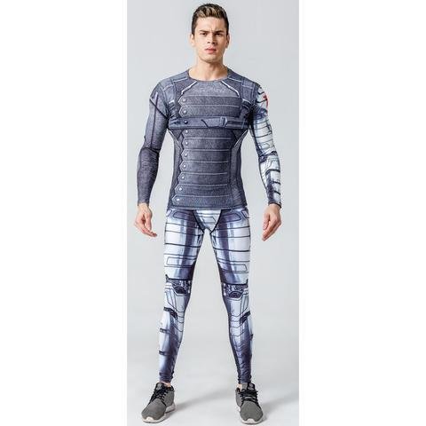 "Buck ""Winter Soldier"" Armor Compression Set-RashGuardStore"