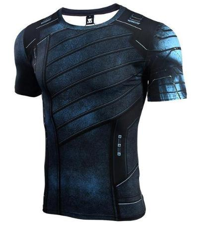 "Buck ""Winter Soldier"" Infinity War Compression Short Sleeve Rashguard-RashGuardStore"