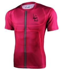 Daredevil 'Comic' Compression Short Sleeve Rash Guard-RashGuardStore