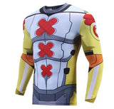 Digimon 'Wargreymon' Long Sleeve Compression Rash Guard-RashGuardStore