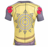 Digimon 'Wargreymon' Short Sleeve Compression Rash Guard-RashGuardStore