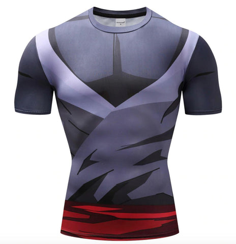 Gohan Super Saiyan Gi Dragon Ball Z Compression Rash Guard-RashGuardStore