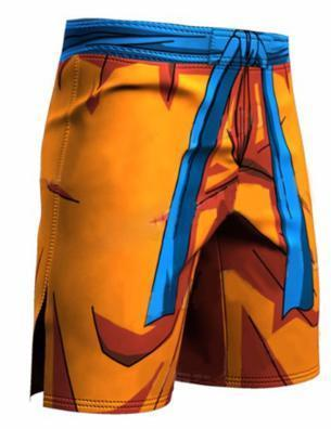 Goku Dragon Ball Z Shorts-RashGuardStore